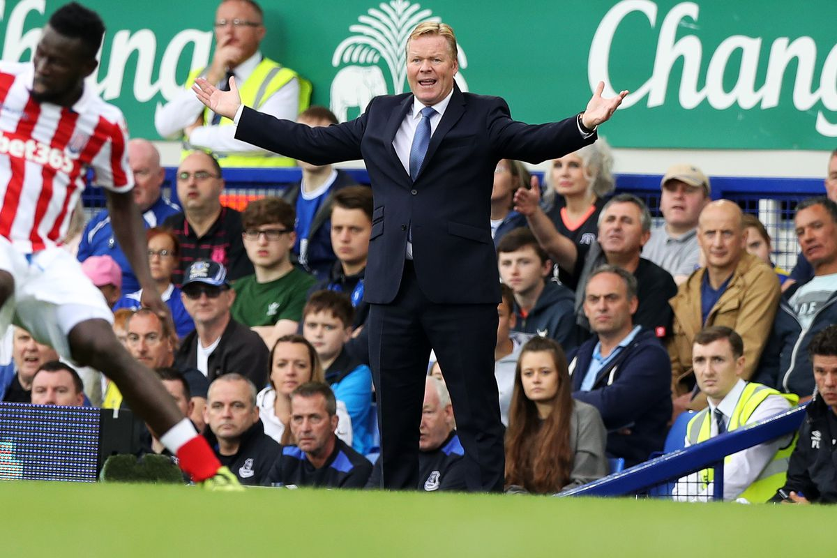 """Ronald Koeman reasonably asks, """"Why are you all so upset? This is a much improved team!"""""""