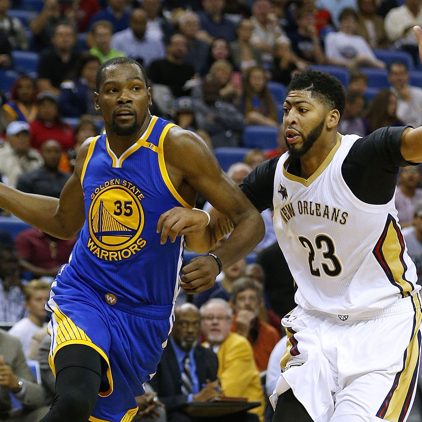 Anthony Davis and DeMarcus Cousins  guarding down  is biggest key for  Pelicans 1d9041e39