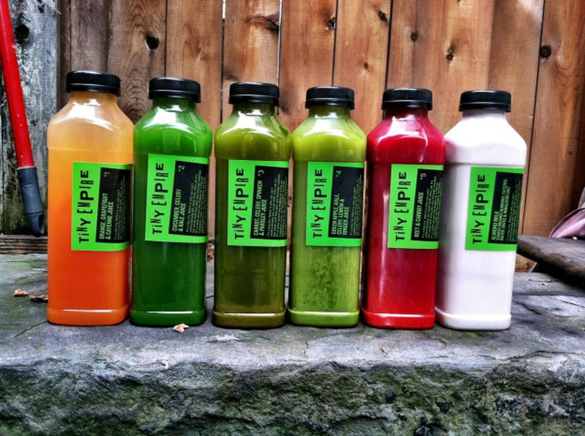 Comparing new york citys juice cleanse packages racked ny tiny empire malvernweather Choice Image