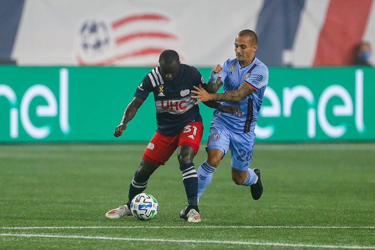 MLS: New York City FC at New England Revolution