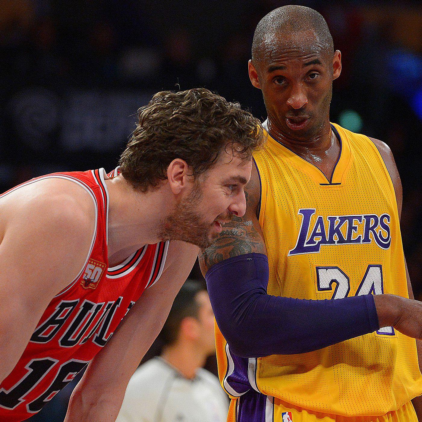 quality design 2380c db4e4 Lakers vs. Bulls Preview: Kobe Bryant and Pau Gasol say ...