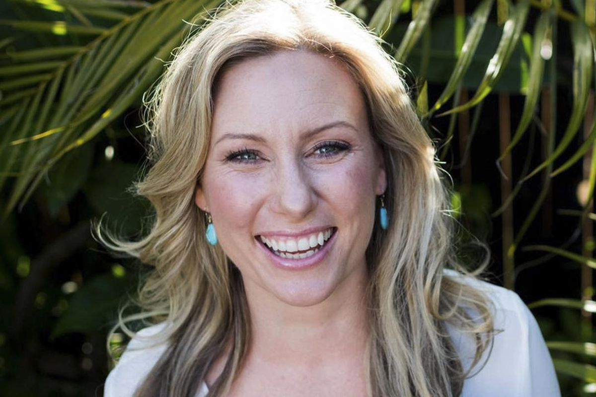 A photo of Justine Damond, whom a Minneapolis police officer shot and killed.