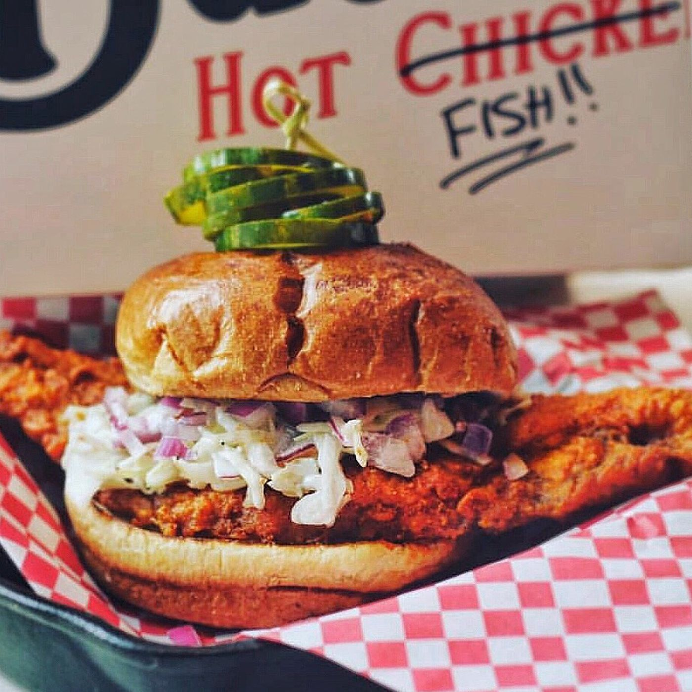Best Fast Food Fish Sandwich 2020 Nashville Style Hot Chicken Has Made Its Way to Fish   Eater