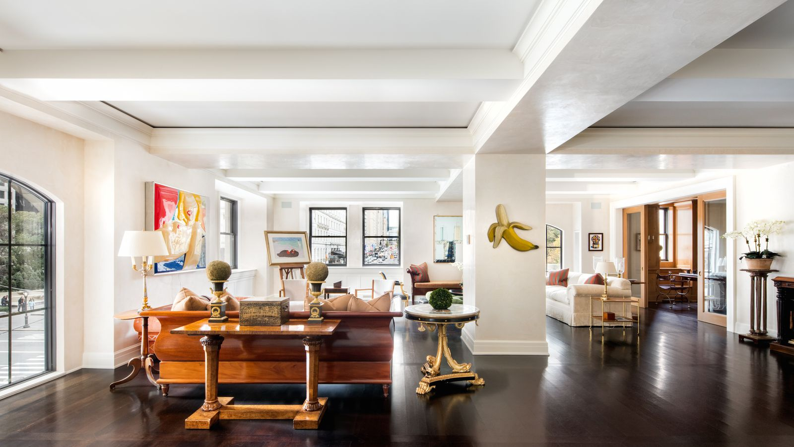 Striking 39 uptown loft 39 at the sherry netherland wants 32m for Nyc loft for sale