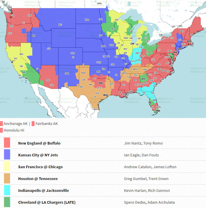 Cleveland Browns vs. Los Angeles Chargers: Week 13 TV Listings ... on