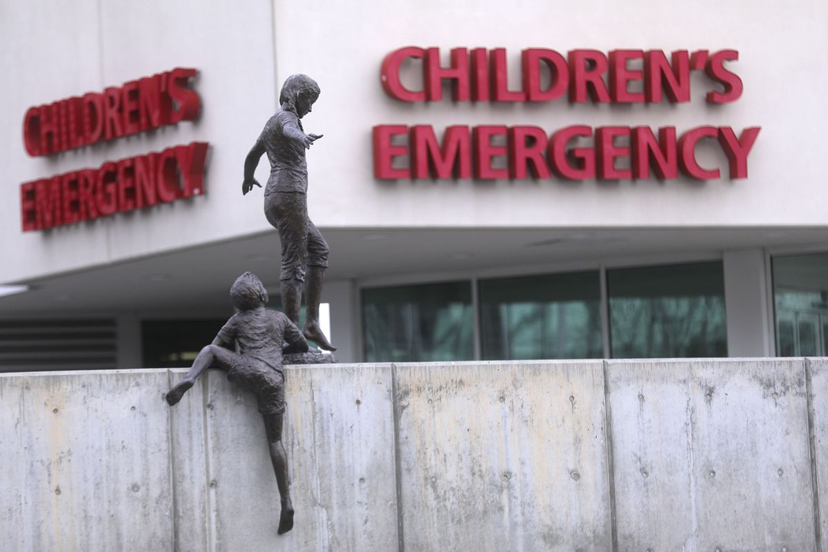 Primary Children's Hospital in Salt Lake City is pictured on Tuesday, March 31, 2020.