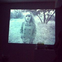 "Still from Wren's fall 2012 film, ""Beware of Young Girls"""