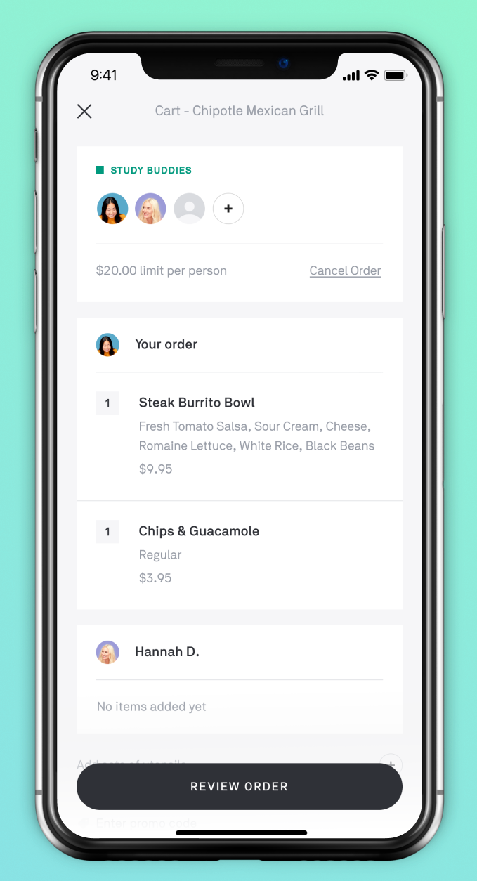 Postmates joins DoorDash and Caviar in letting you make a
