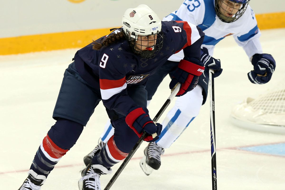 Former Gopher Megan Bozek is among the 40 athletes chosen for the CWHL's inaugural All-Star Game in Toronto next month.