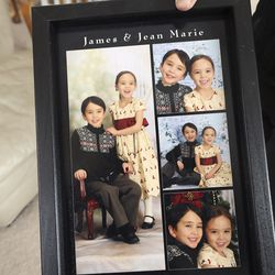 Photos of James Warhola, 8, and Jean Marie Warhola, 7, are pictured in Layton on Wednesday, Jan. 29, 2020. Prosecutors say the children were strangled by their mother more than nine years ago.