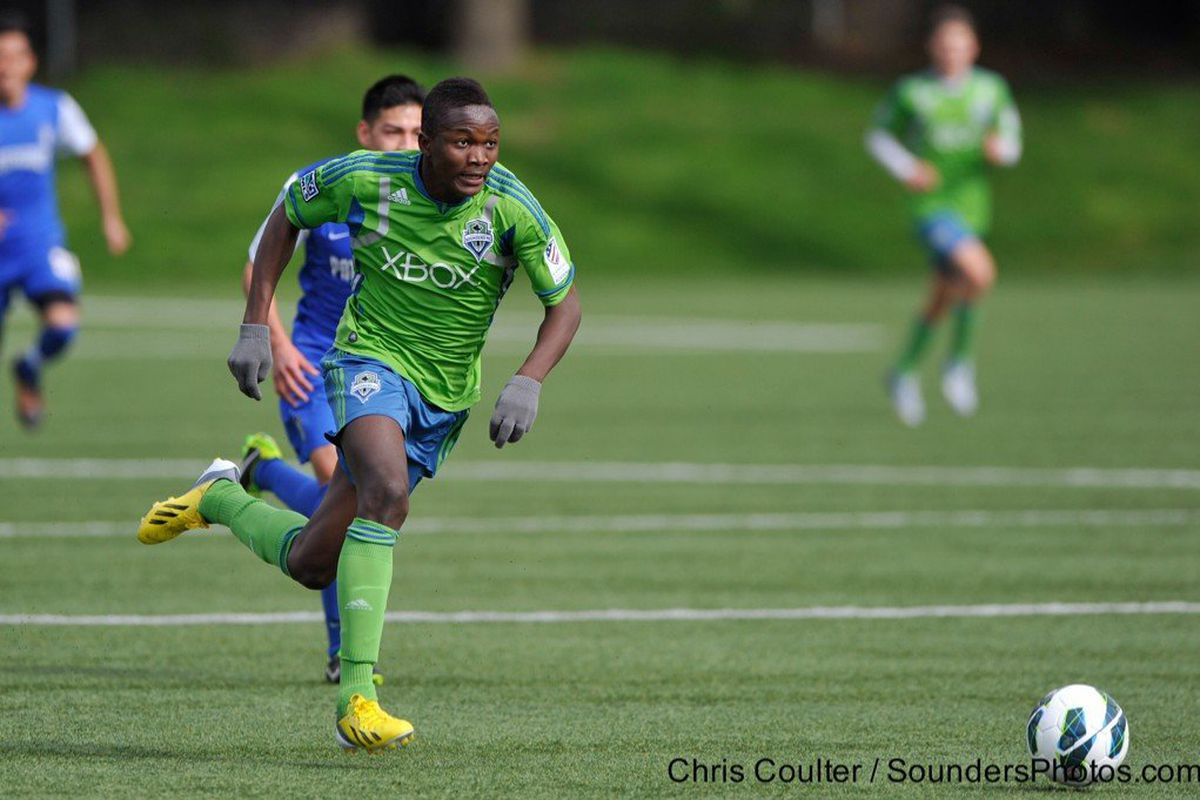 Victor Mansaray could play up, or he could sign an HGP deal and play down.
