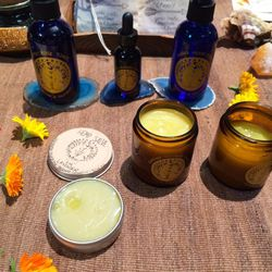 """Earth apothecary by <a href=""""http://poppyandsomeday.com/""""target=""""_blank"""">Poppy & Someday</a>, which can also be purchased at DTLA wellness oasis <a href=""""http://la.racked.com/archives/2014/10/15/dtlas_massive_wellness_oasis_the_springs_debuts_this_sat.php"""