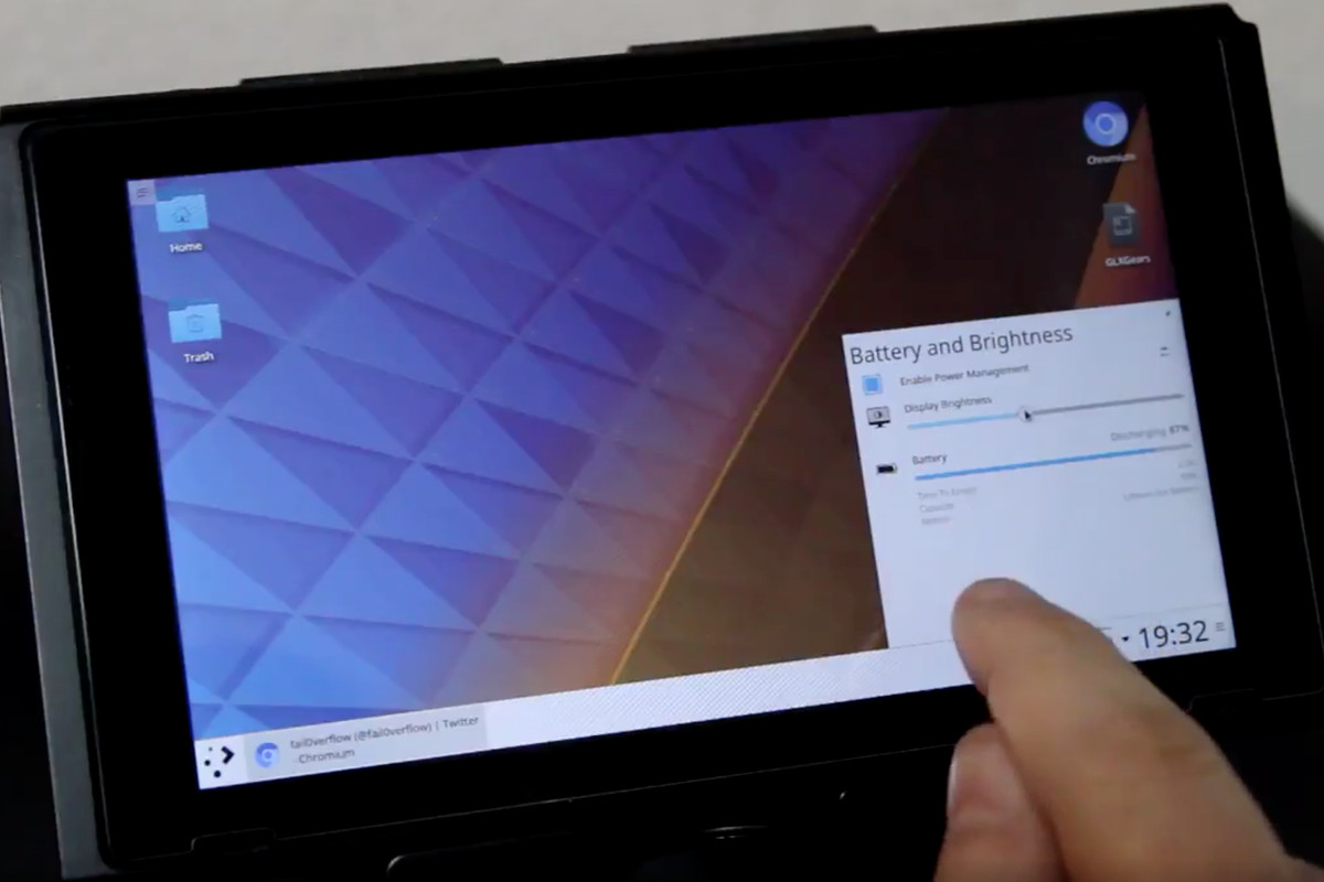 Hackers Turn The Nintendo Switch Into A Fully-functioning Linux Tablet