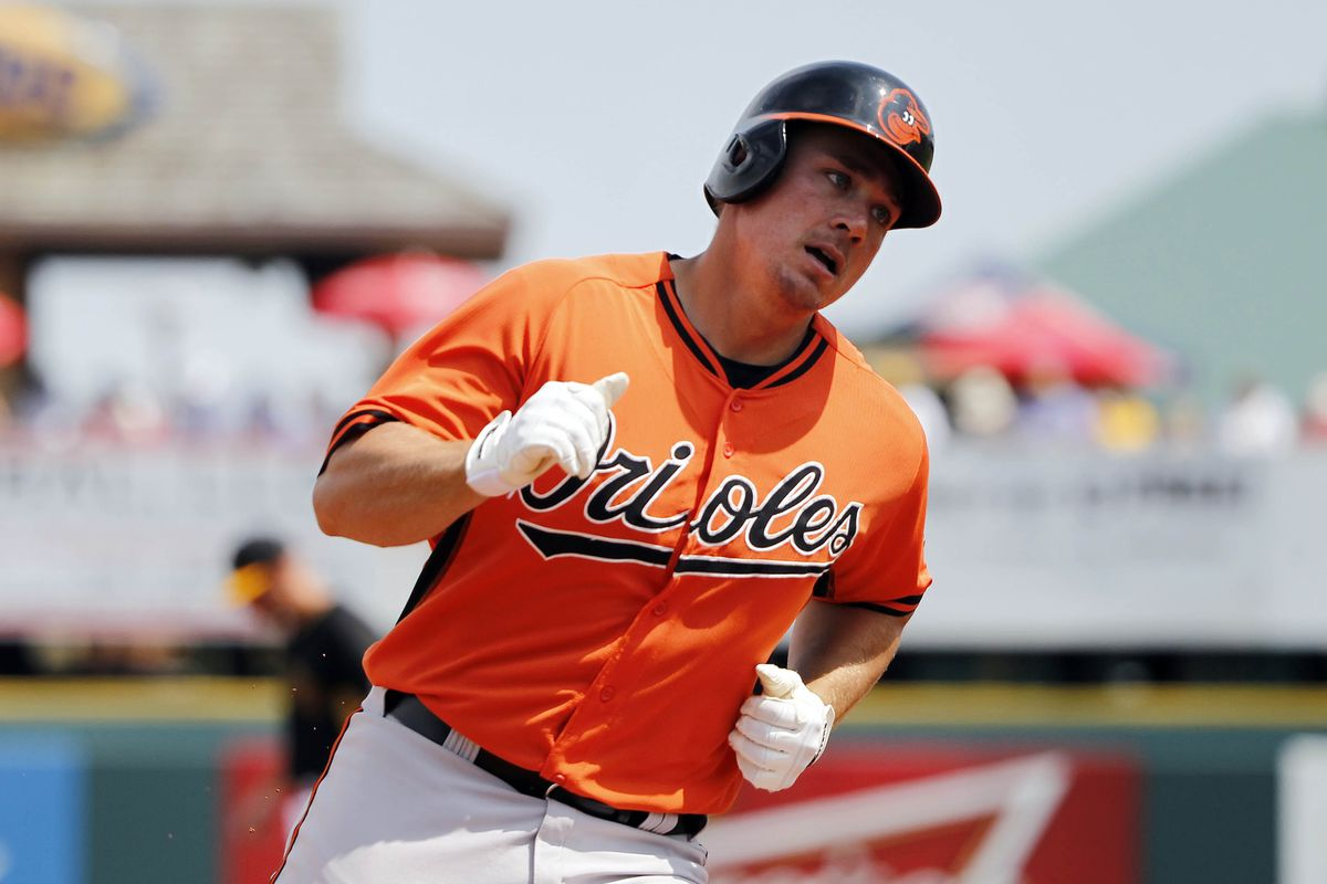 Steve Clevenger will be heading north, and he won't be stopping at Norfolk.