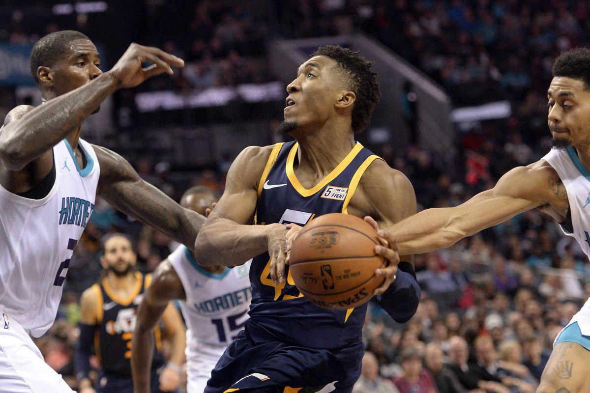 NBA: Utah Jazz at Charlotte Hornets