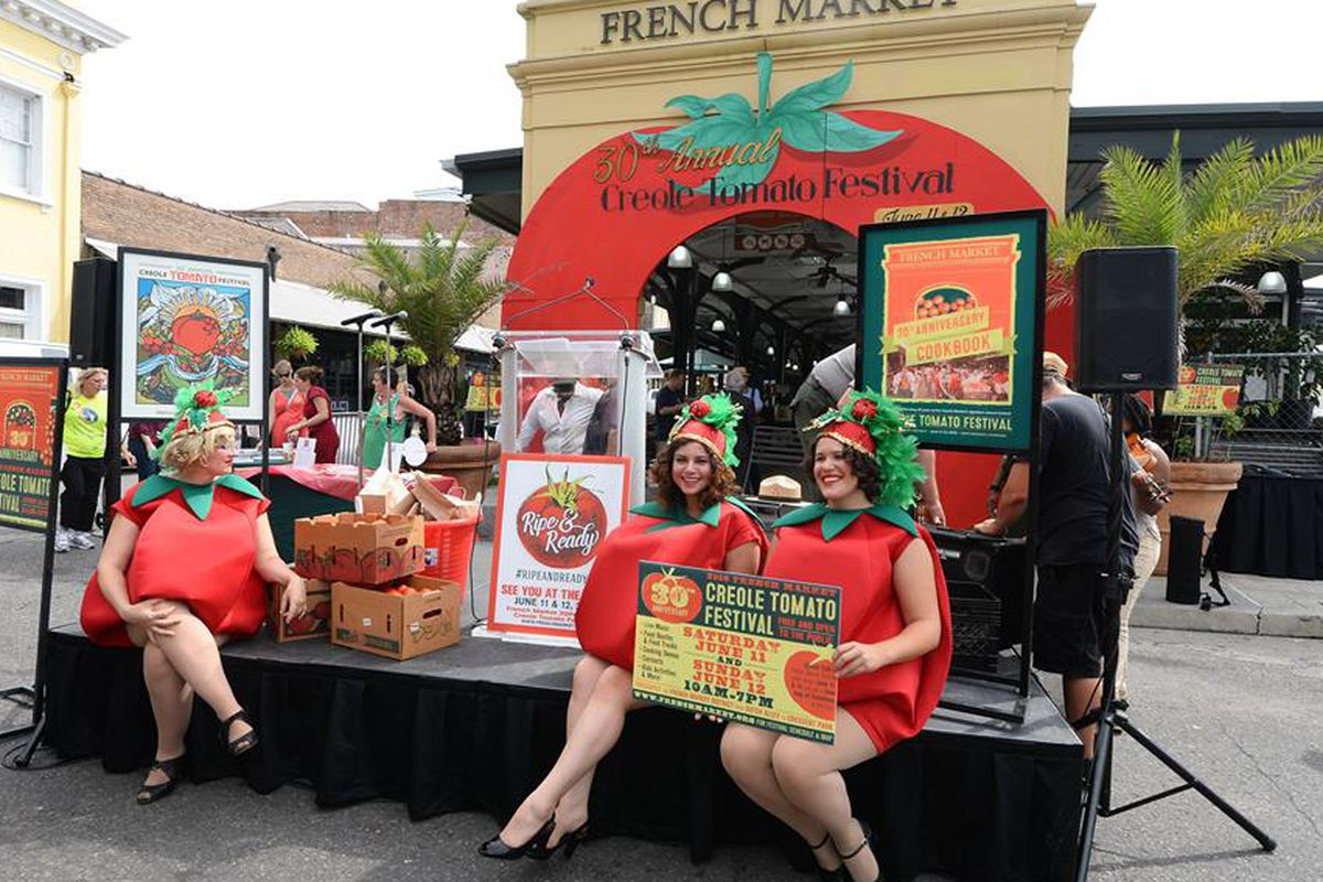 Creole Tomato Festival Lands In French Quarter This