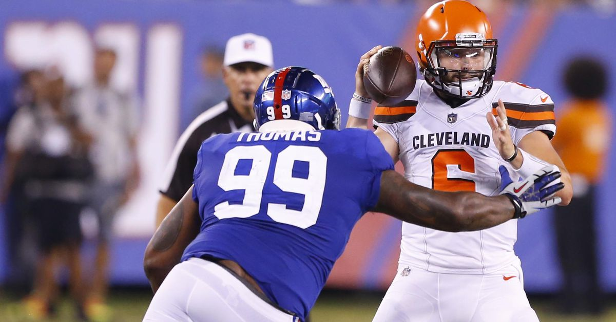 Post-game quotebook: What the Giants were saying after loss to Cleveland