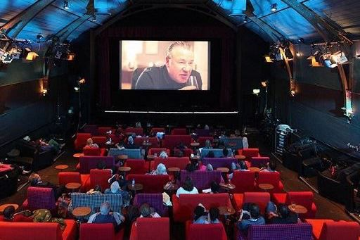 The screening room at Everyman Hampstead, one of the best places for cinema food in London