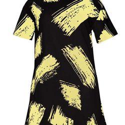 "Pixie Market dress, <a href=""http://www.pixiemarket.com/paint-strokes-black-dress.html"">$72</a>"