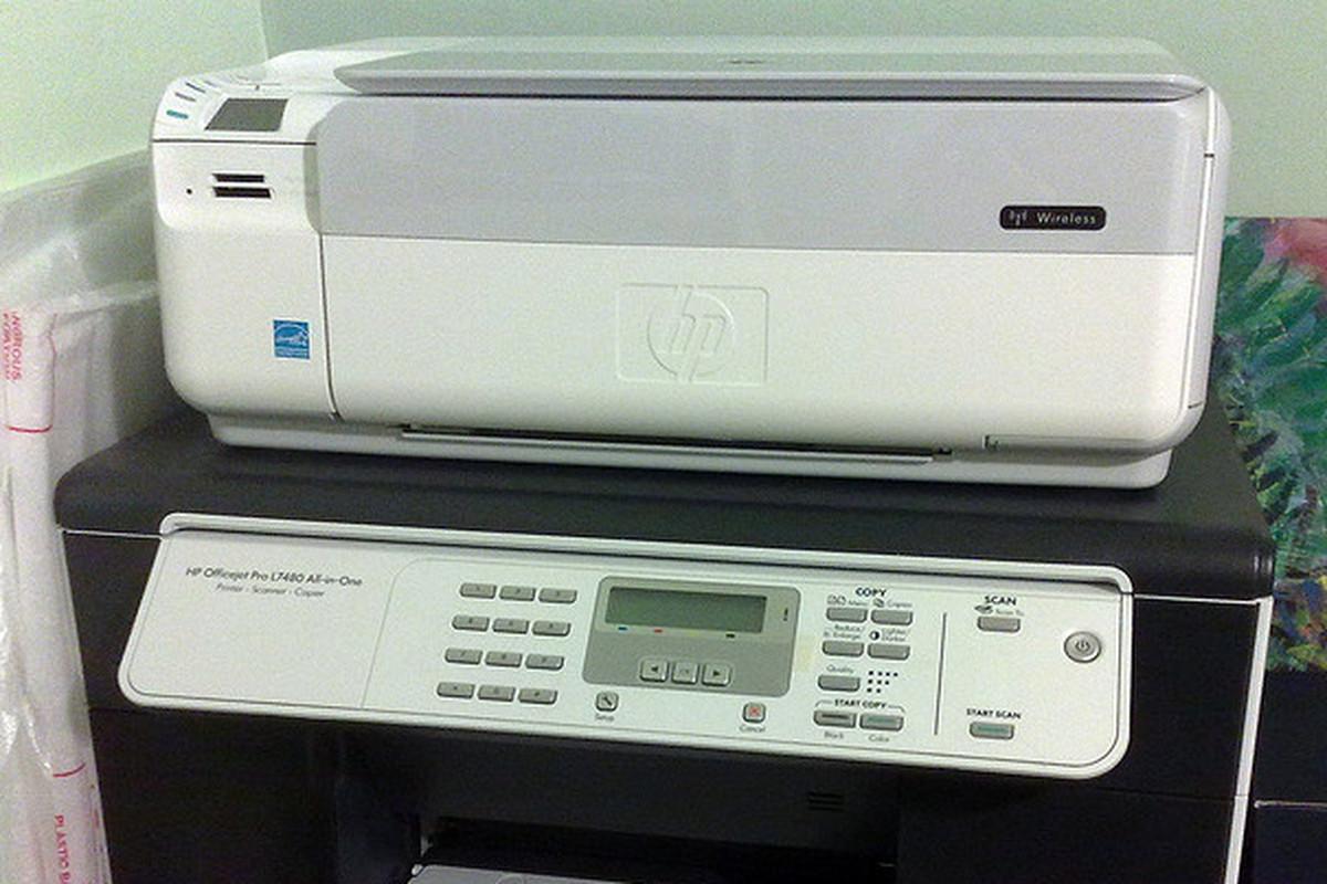 HP Scanner FLICKR