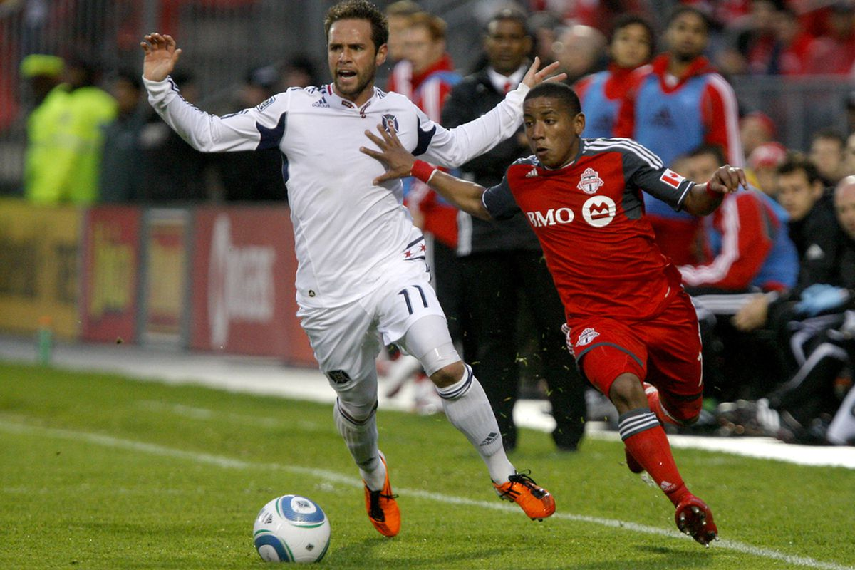 Plata gave the Chicago Fire all kinds of headaches last time around