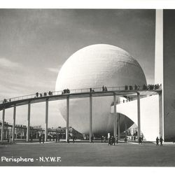 """The Perisphere via <a href=""""http://www.flickr.com/photos/ricksoloway/5814421775/in/pool-642509@N21/"""">Flickr/Ricksoloway</a>."""