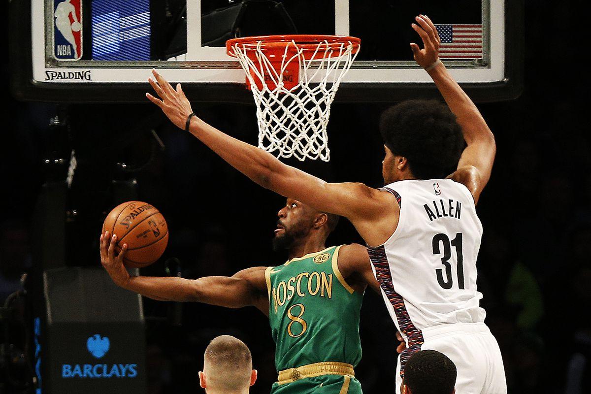 NBA: Boston Celtics at Brooklyn Nets