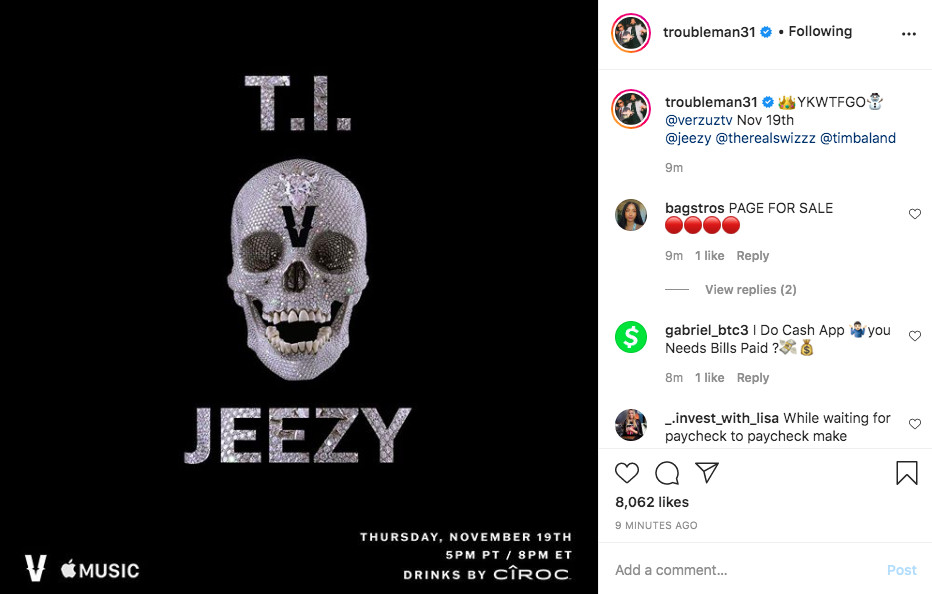 T.I. and Jeezy Verzuz