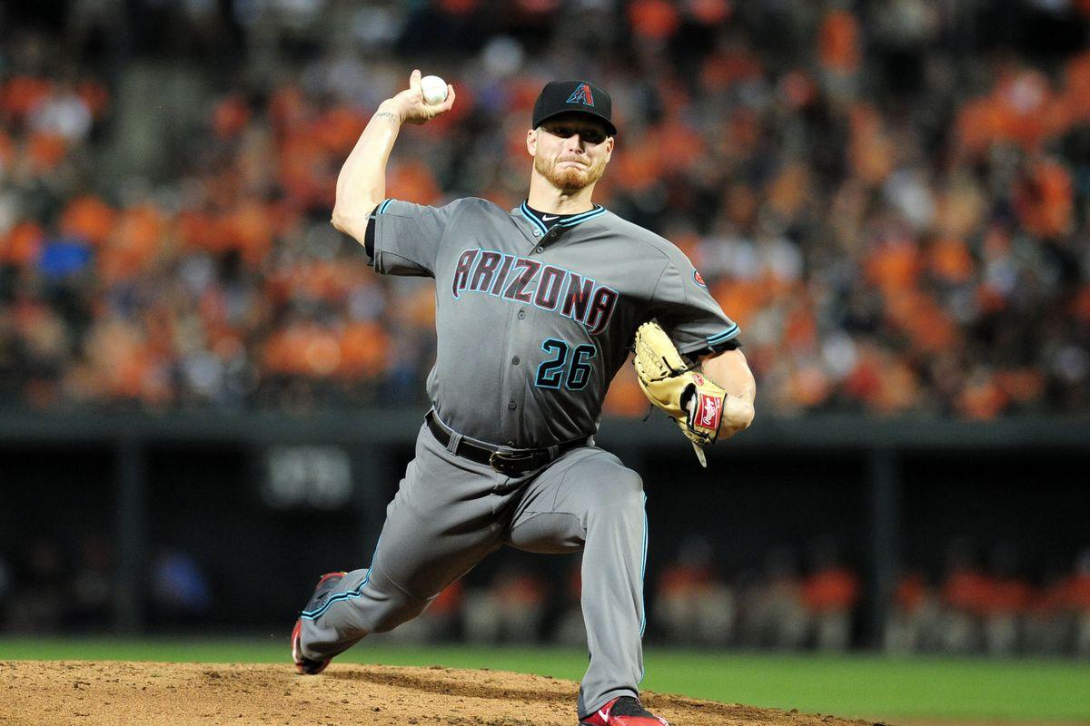 MLB: Arizona Diamondbacks at Baltimore Orioles