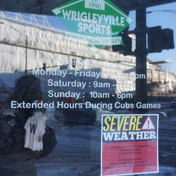 Wrigleyville Sports, at Addison and Sheffield
