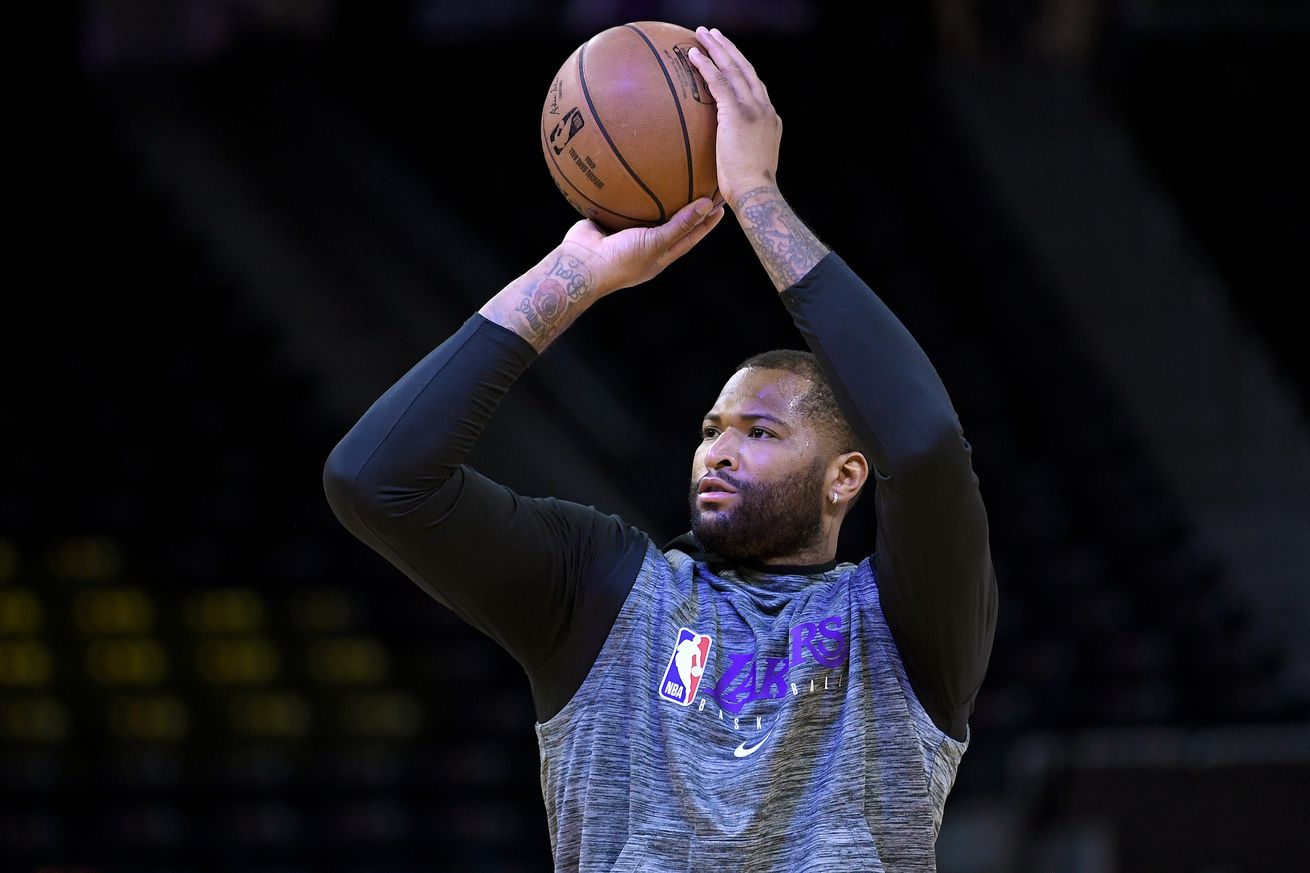 Frank Vogel says DeMarcus Cousins is 'on track to get healthy by the playoffs'