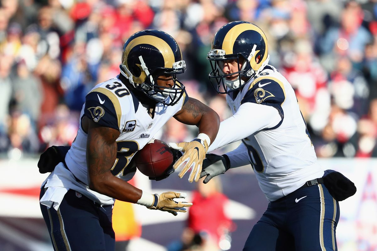 new style fe70d 06177 NFL's 27th Best Selling Jersey Belongs to Todd Gurley - Turf ...
