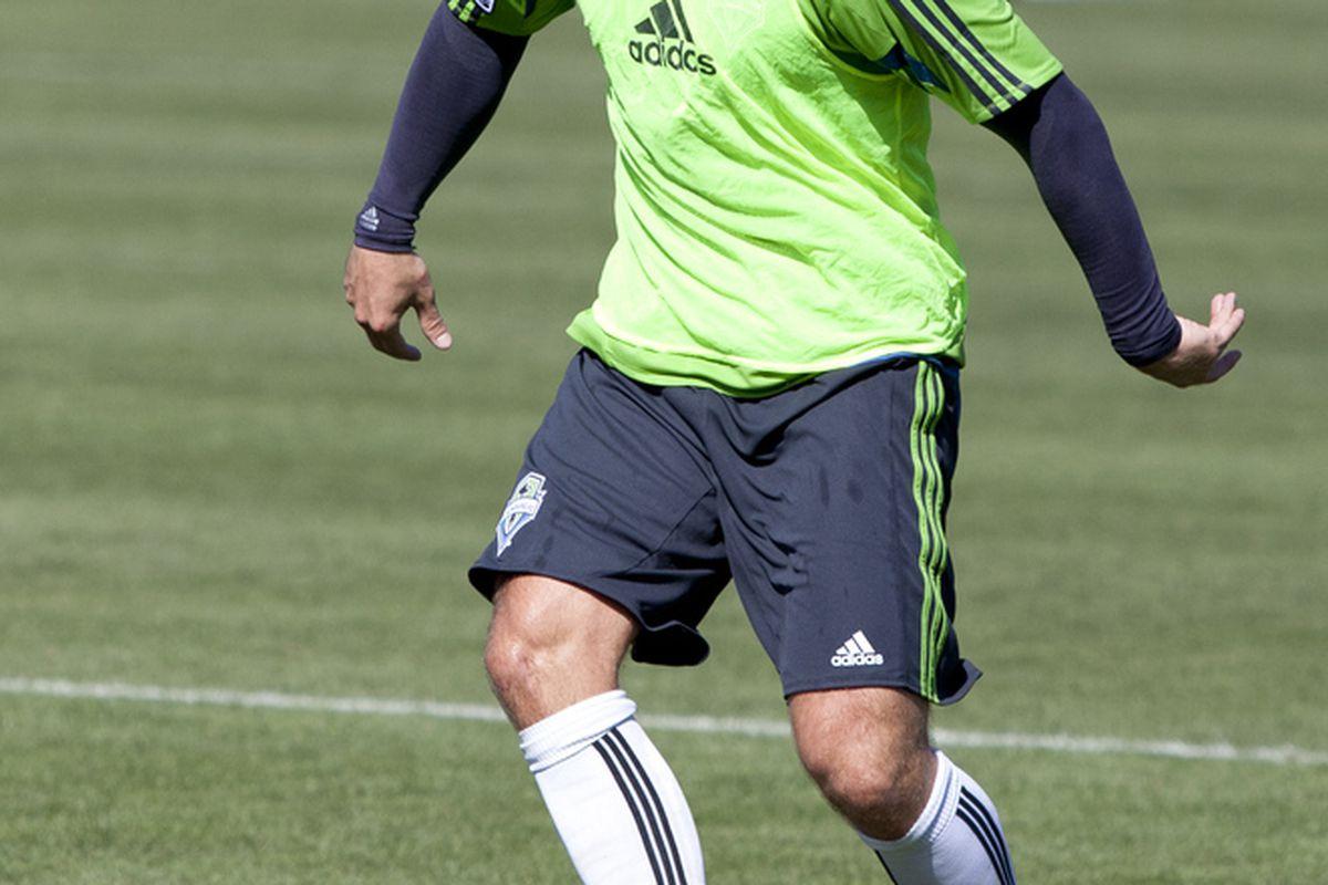 Eidur Gudjohnsen. (Photo courtesy of SoundersFC.com)