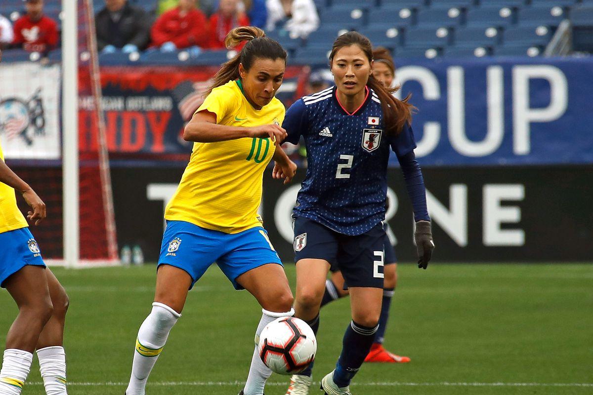 2019 SheBelieves Cup - Brazil v Japan
