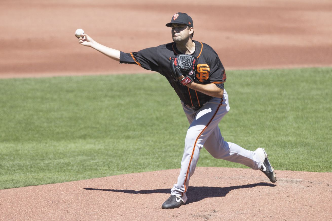 MLB: JUL 11 Giants Summer Camp