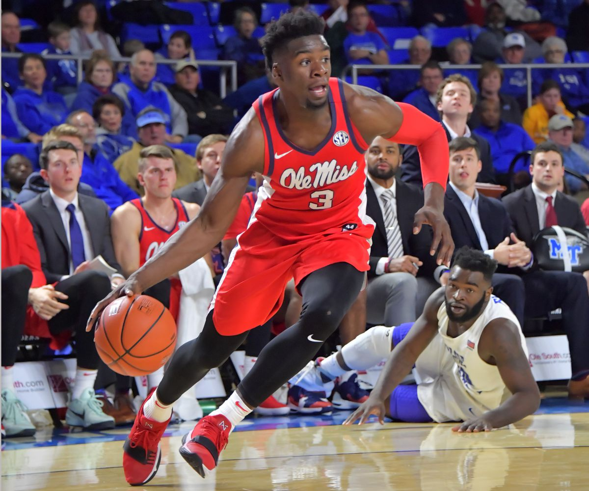 NCAA Basketball: Mississippi at Middle Tennessee State
