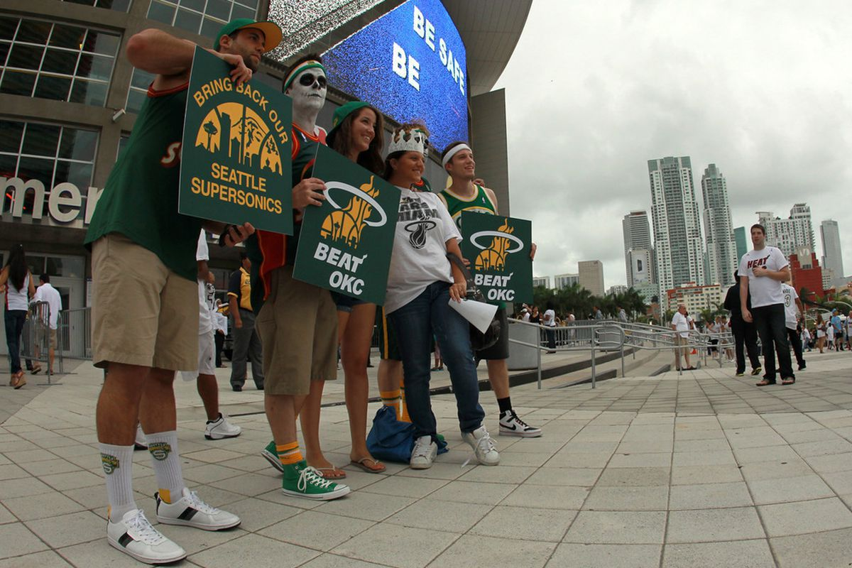 If the Kings really do relocate, Sonics fans can now root against Oklahoma City by rooting for the Sonics, instead of rooting against the Thunder.