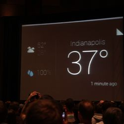 Weather on Google Glass