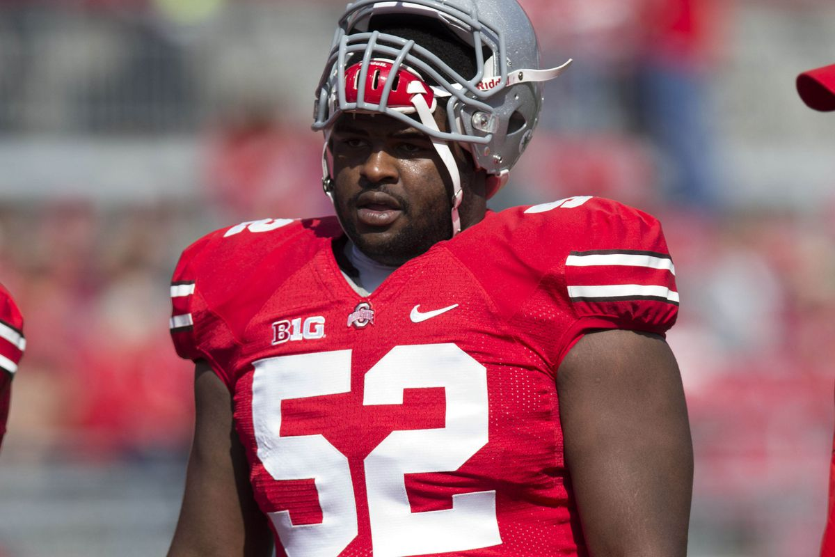 best loved 84d31 4c813 Johnathan Hankins leaving Ohio State for 2013 NFL Draft ...