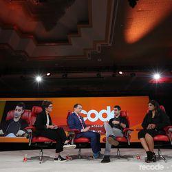 Kara Swisher (Editor at large, Recode), Peter Kafka (Sr. Correspondent, Recode), Kayvon Beykpour (Product Lead, Twitter),Vijaya Gadde (Lead Counsel, Twitter)