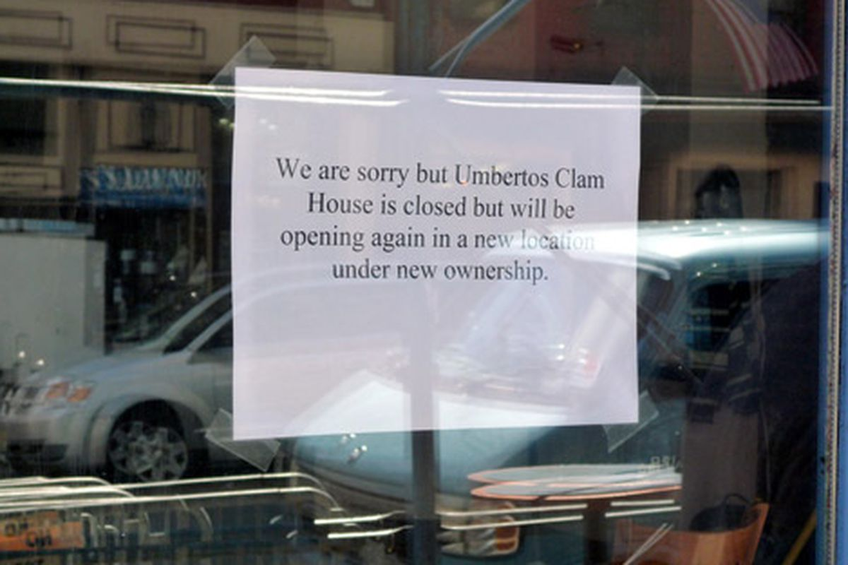 Umberto's Clam House Shutters,...
