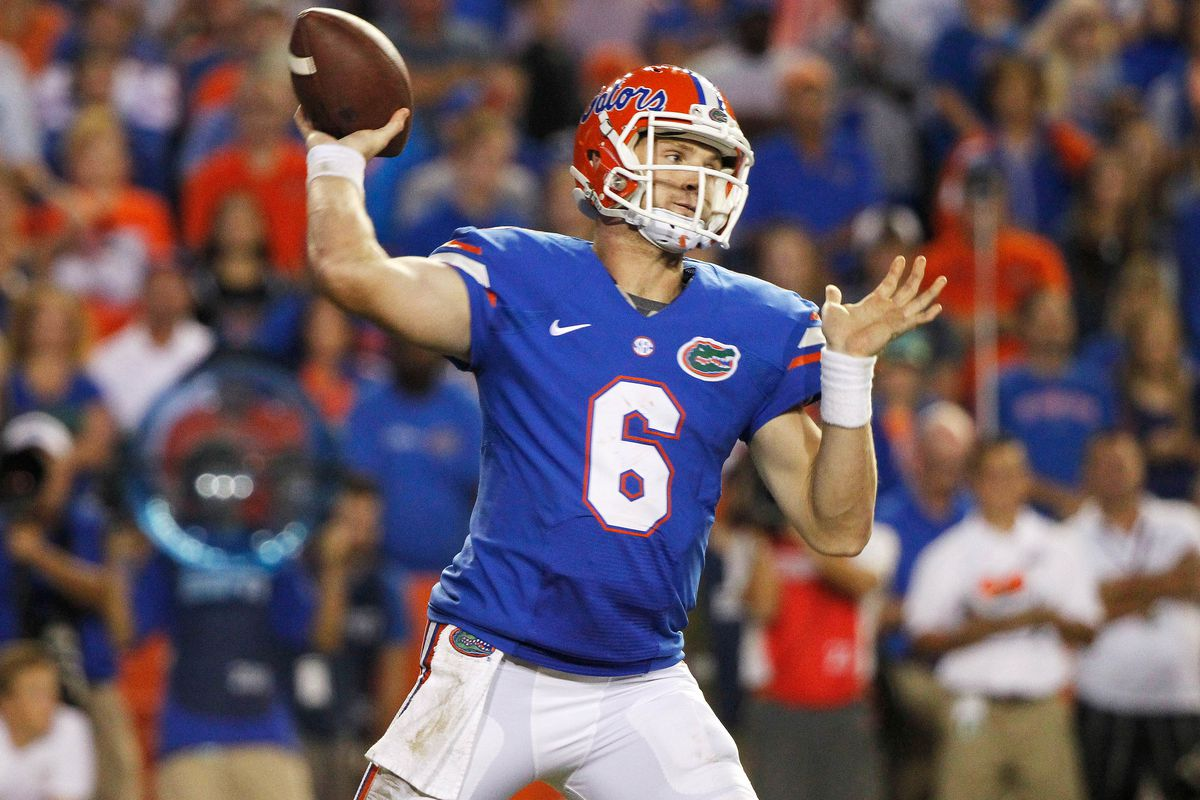 Jeff Driskel will be in blue this year at Louisiana Tech.