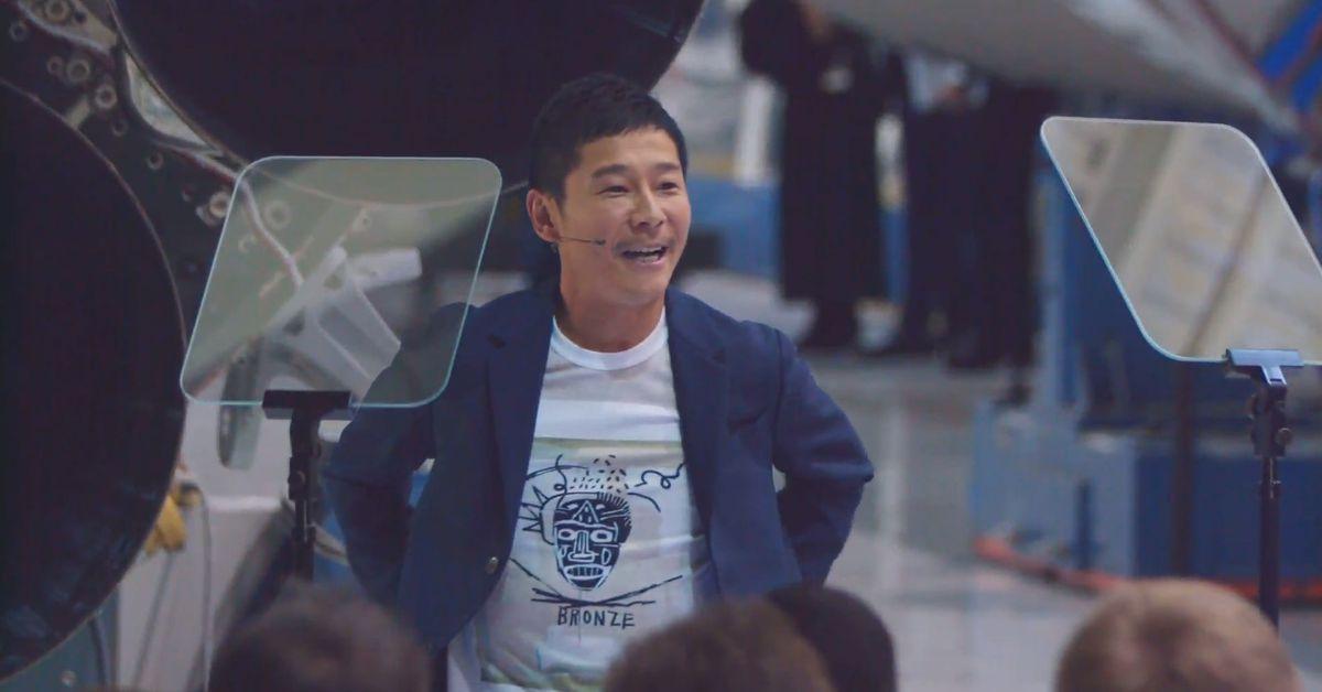 SpaceX will send Japanese billionaire Yusaku Maezawa around the Moon