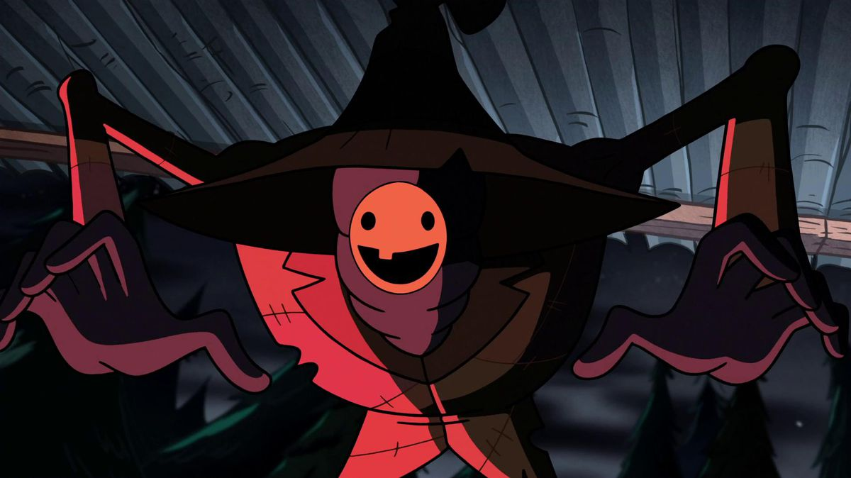 The Summerween Trickster in Gravity Falls