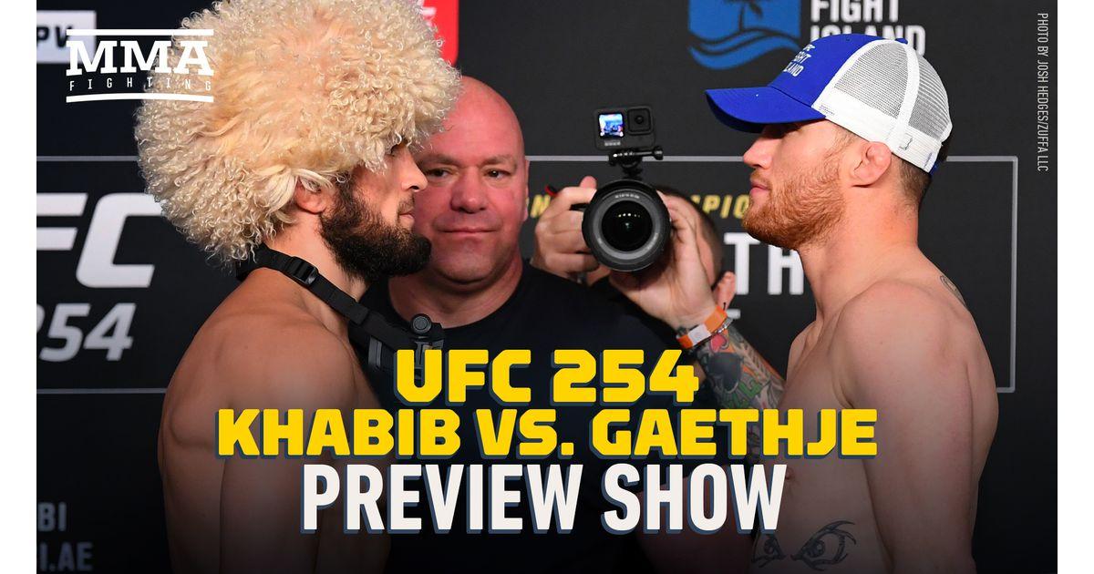 Video: UFC 254 preview show