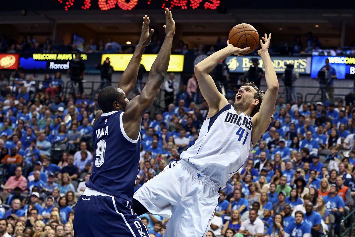 NBA: Playoffs-Oklahoma City Thunder at Dallas Mavericks