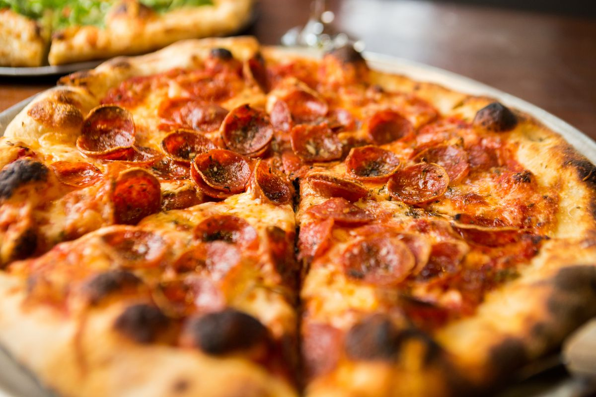 The Crown's pepperoni pizza