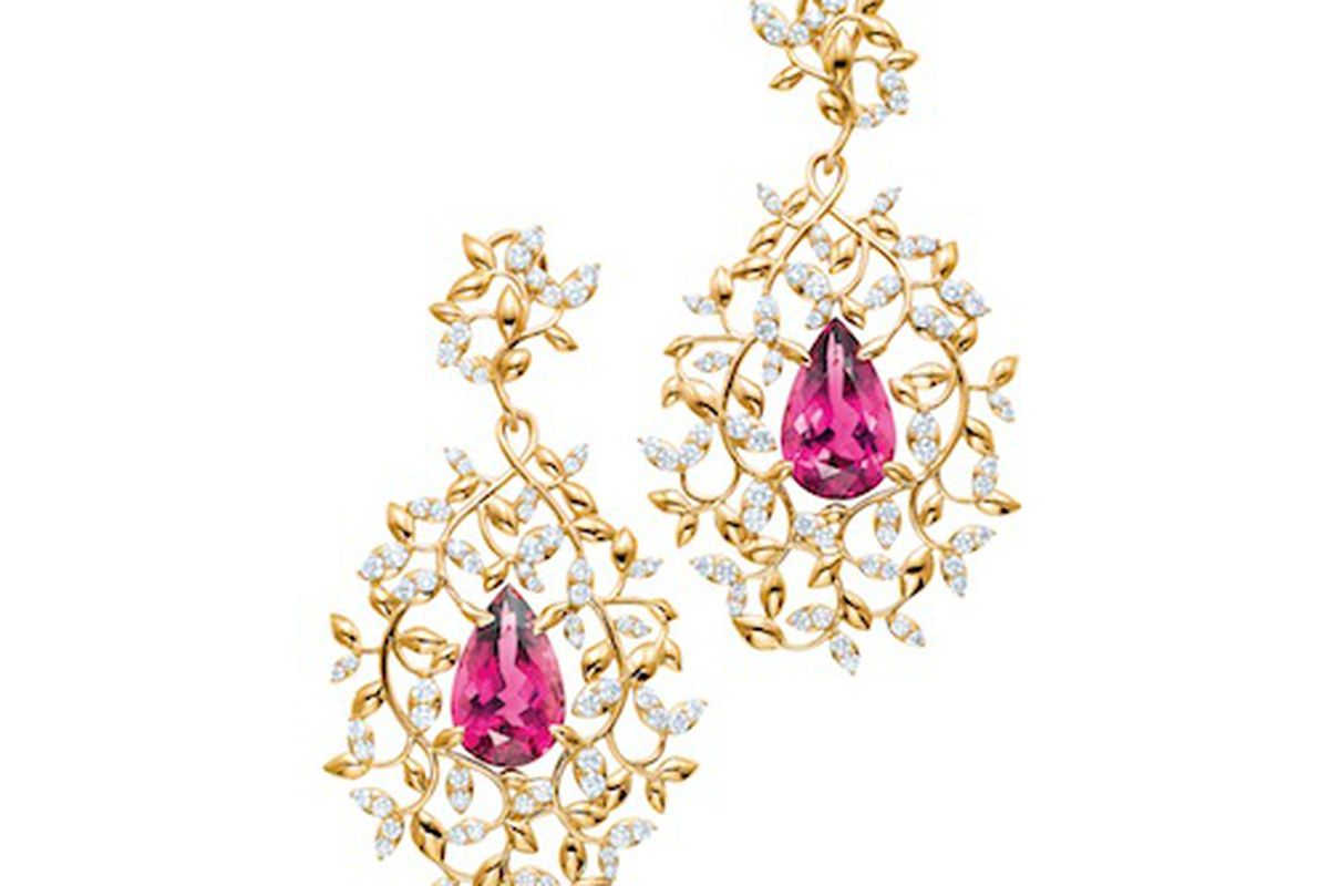 """Paloma Picasso's Olive Leaf Earrings will set you back $45,500. Image credit: <a href=""""http://www.tiffany.com/"""">Tiffany &amp; Co.</a>"""