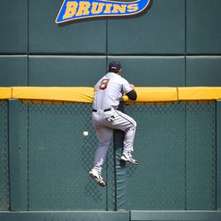 Power was at a premium at TD Ameritrade Park, but All-American Hunter Renfroe found a way to send one over the fences