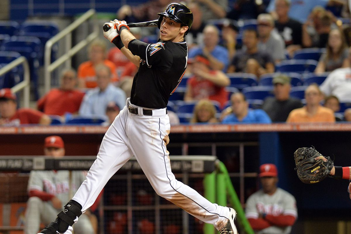 Former Marlins prospect and current MLB outfielder, Christian Yelich.